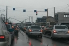 Из-за троллейбуса в Барнауле образовались огромные пробки