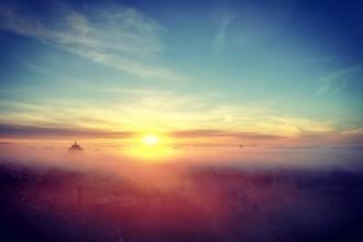 Жители Барнаула говорят о сильном утреннем тумане